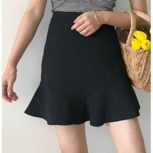 Banana Republic Flounce Short Skirt
